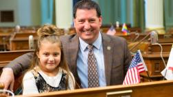 Assemblymember Grayson Welcomes the Elms Family