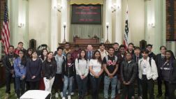 Assemblymember Grayson welcomes Jesse Bethel High School to the State Capitol